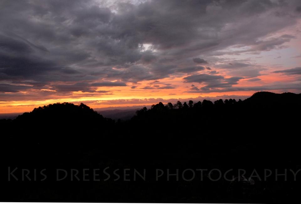 Sunset in Las Minitas