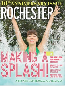The Rochester Magazine 10th anniversary issue.